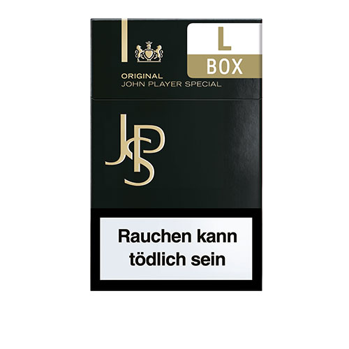 zigaretten jps john player special black l box 10x20. Black Bedroom Furniture Sets. Home Design Ideas