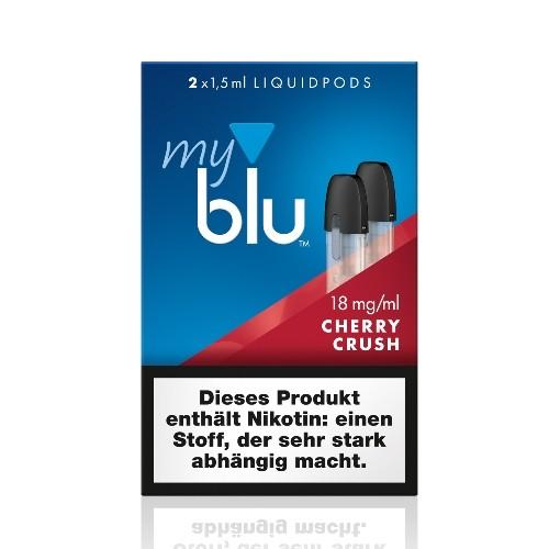 myblu Cherry Crush 2 x LIQUIDPOD mit 18 mg Nikotin