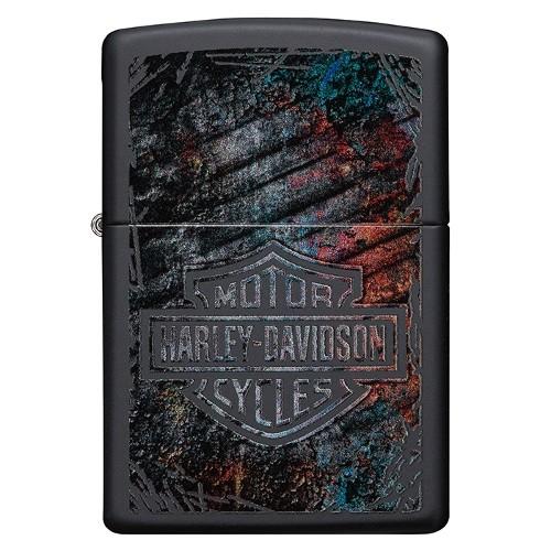 ZIPPO Sturmfeuerzeug Harley-Davidson Logo