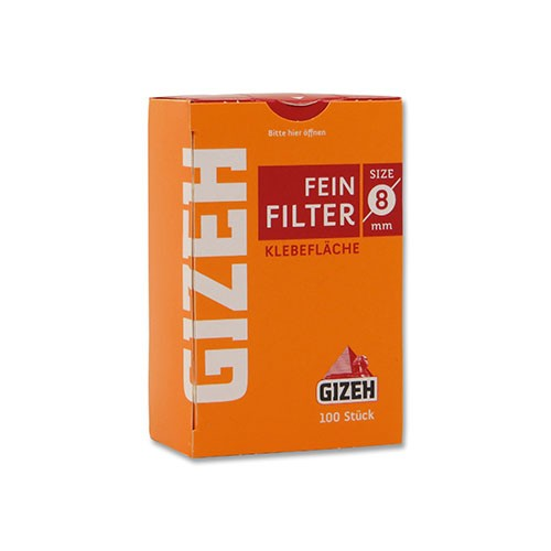Zigarettenfilter Gizeh 10 Päckchen à 100 Feinfilter