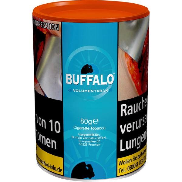 Zigarettentabak Buffalo Volumentabak Blue 80 Gramm