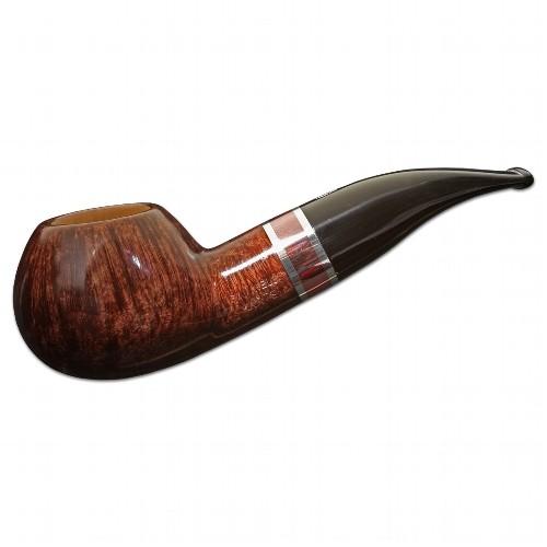 Pfeife Savinelli Marte Prince Nr.320 aus Bruyèreholz glatt Acryl in braun schwarz