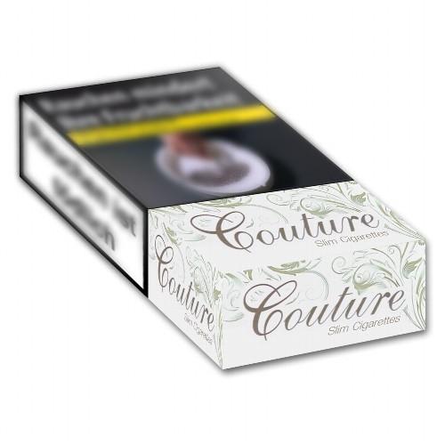 Couture Zigaretten Silver Slim (10x20)