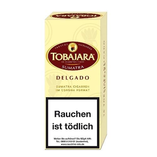 Tobajara Delgado Sumatra 20 Zigarren