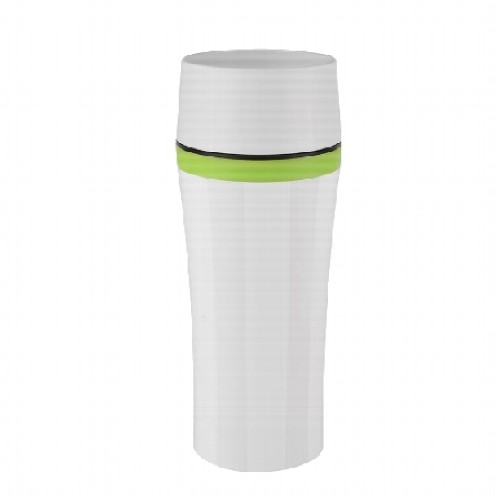 Isolierbecher EMSA Travel Mug weiß 0,36 l