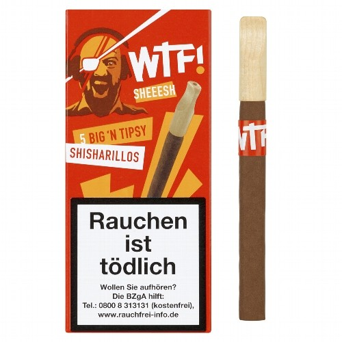 WTF! SHEEESH Big'n Tipsy 5 Zigarillos
