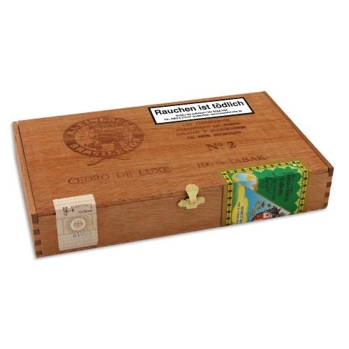Brasileros Cedro de Luxe No.2 25 Zigarren