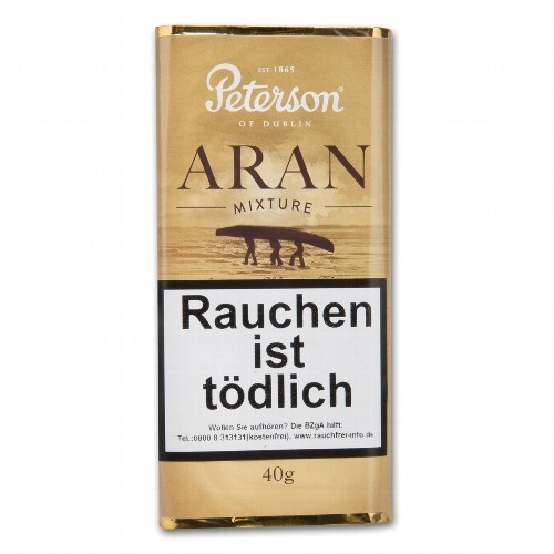 Pfeifentabak Peterson Aran Mixture 40 Gramm