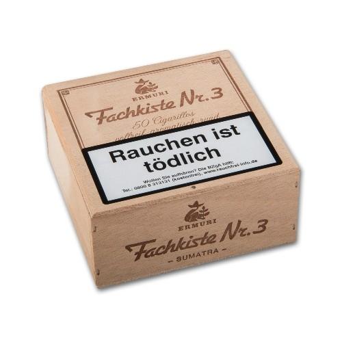 Fachkiste Nr.3 Sumatra 50 Zigarillos