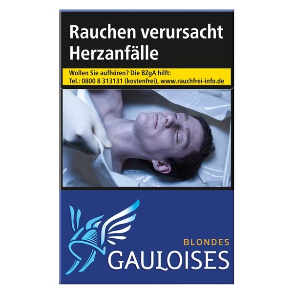 Gauloises Zigaretten Blondes blau Softpack (10x20)