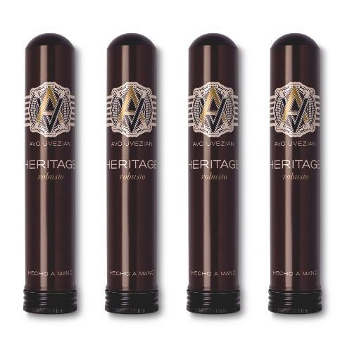 AVO Heritage Robusto Tubos 4 Zigarren