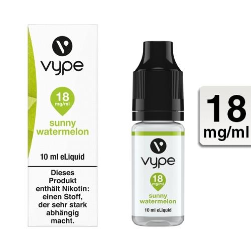 E-Liquid VYPE Bottle EDR Sunny Watermelon 18mg