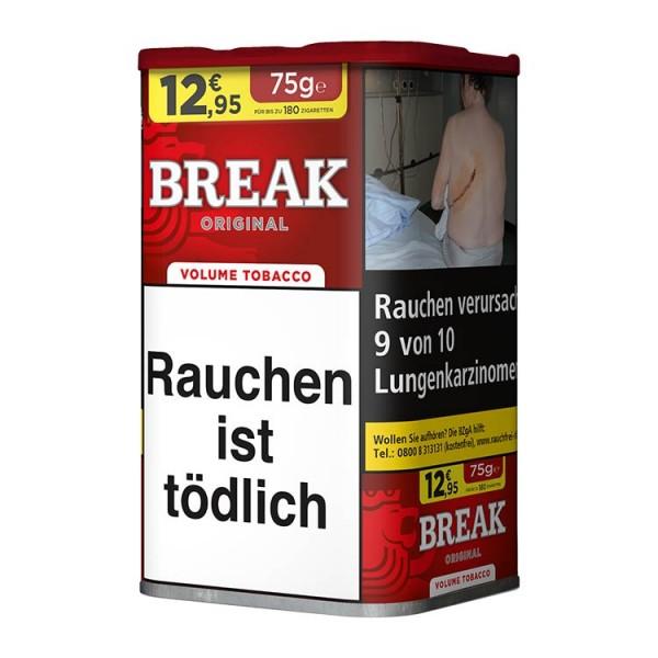 Zigarettentabak Break Original Volumen 75 Gramm