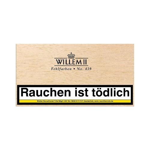 Willem II Fehlfarben No.439 Sumatra 100 Zigarillos