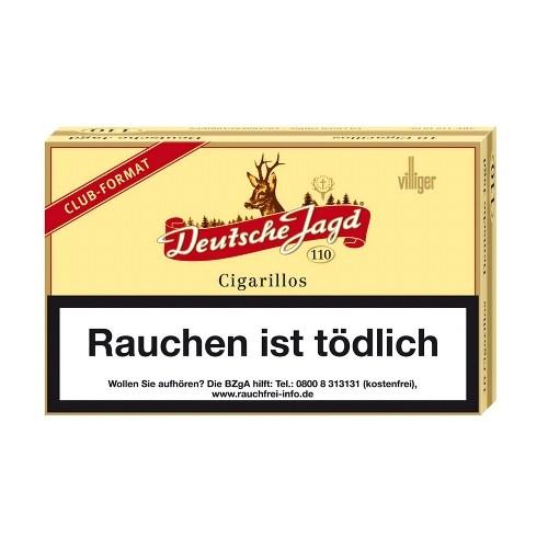 Deutsche Jagd 110 10 Zigarillos