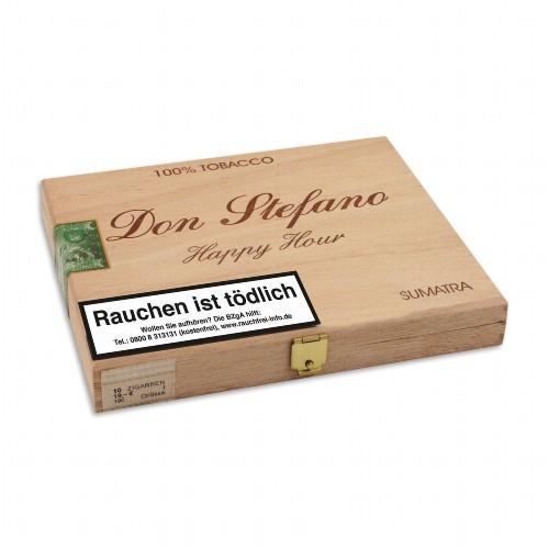 Don Stefano Happy Hour Sumatra 10 Zigarren
