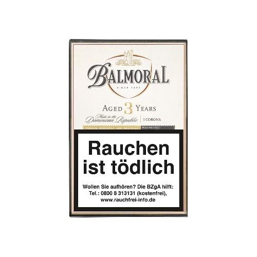 Balmoral Aged 3 Years Short Corona 5 Zigarren