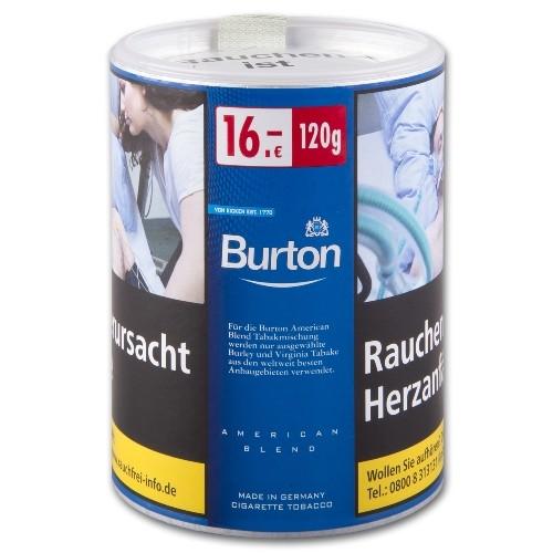 Burton Blue Zigarettentabak 120 Gramm ehemals White