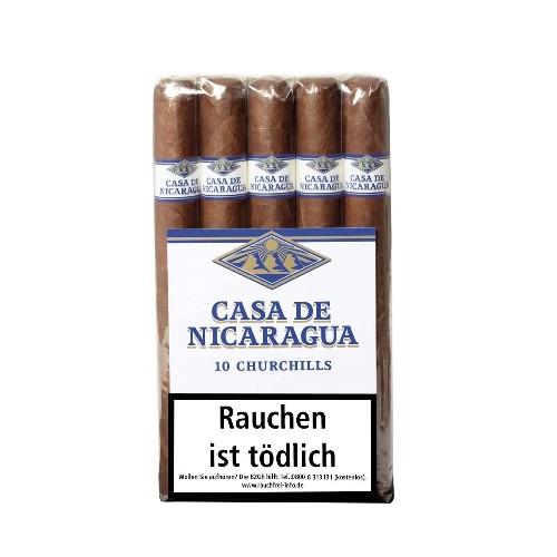 Casa de Nicaragua Churchill Bundle 10 Zigarren