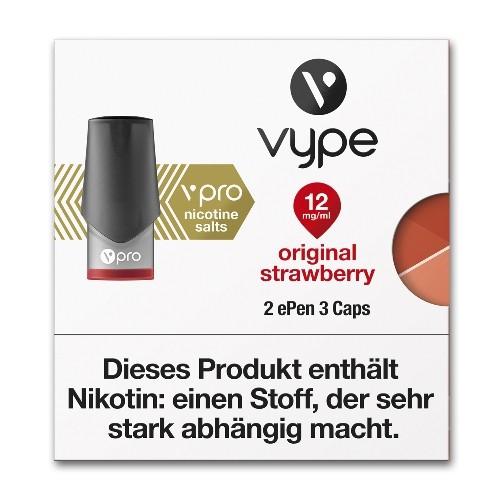 VYPE Caps ePen3 vPro Original Strawberry 12 mg