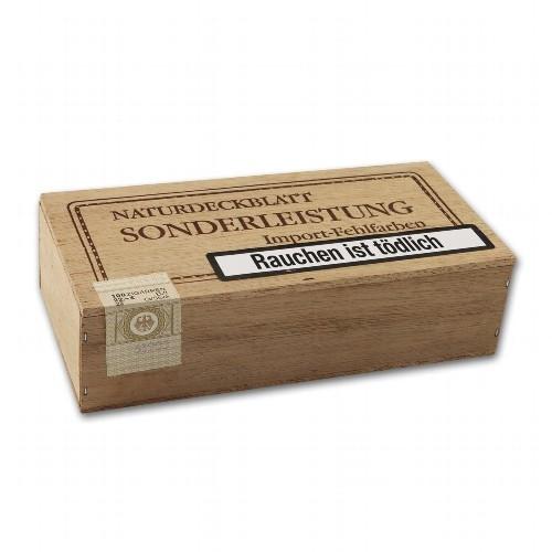 Sonderleistung Sumatra Import-Fehlfarben 100 Zigarillos