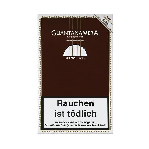 Guantanamera Cristales Tubes 5 Zigarren
