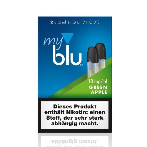 myblu Green Apple LIQUIDPOD 18 mg Nikotin