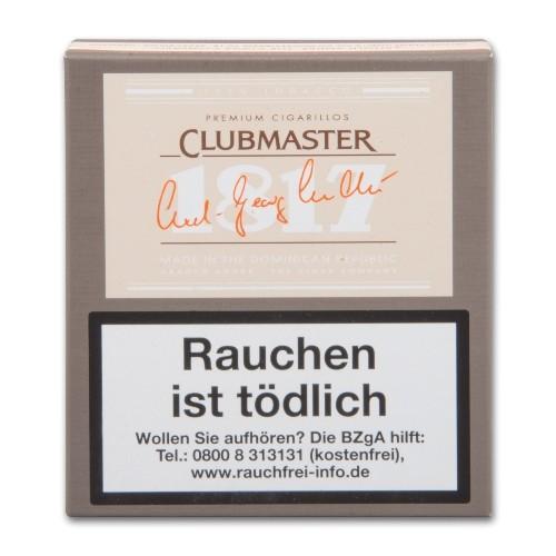 Clubmaster 1817 Jubiläumsausgabe 20 Zigarillos
