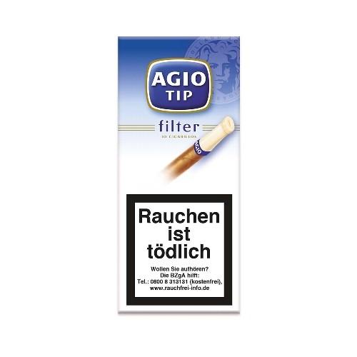 Agio Tip Filter Blau 10 Zigarillos