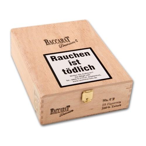 Baccarat Premium No.6 Sumatra 20 Zigarren