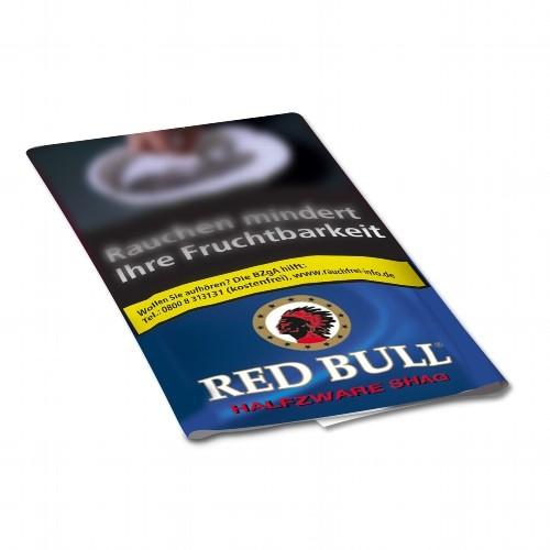 Zigarettentabak Red Bull Halfzware Shag 40 Gramm
