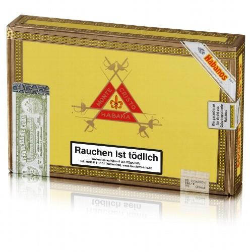 Montecristo No.4 Mareva 25 Zigarren