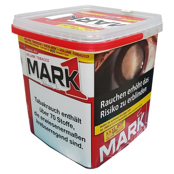 MARK ADAMS Volumentabak 400 g im Eimer