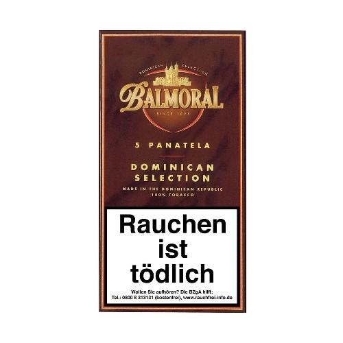 Balmoral Dominican Selection Panatela 5 Zigarren