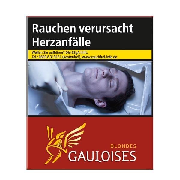 Gauloises Zigaretten Blondes rot (6x31)