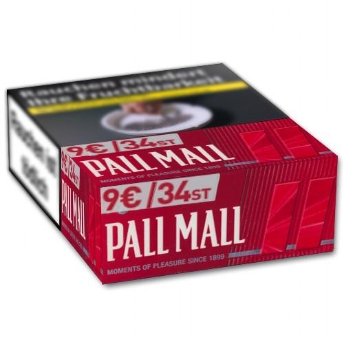 Zigaretten Pall Mall Red (8x34)
