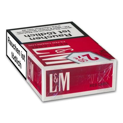 L&M Red Naturdeckblatt 17 Filterzigarillos