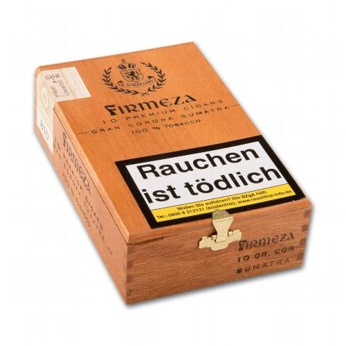 Firmeza Gran Corona Premium Sumatra 10 Zigarren