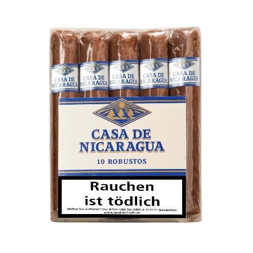 Casa de Nicaragua Robusto Bundle 10 Zigarren