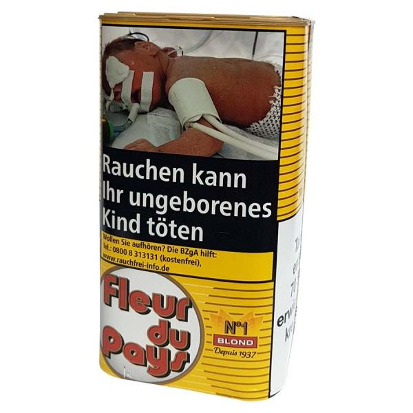 Zigarettentabak Fleur du Pays No.1 Blond Feinschnitt 170 g