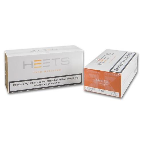 Tabak-Sticks Heets From Marlboro Amber Label für IQOS 10 Schachteln