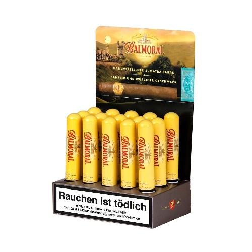 Balmoral Sumatra Selection Corona de Luxe Tubos 15 Zigarren
