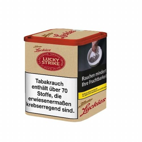 Lucky Strike Zigarettentabak USA Red (Braun) Volumen 60 Gramm