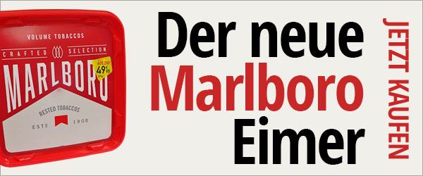 Marlboro Crafted Selection Eimer 270 Gramm