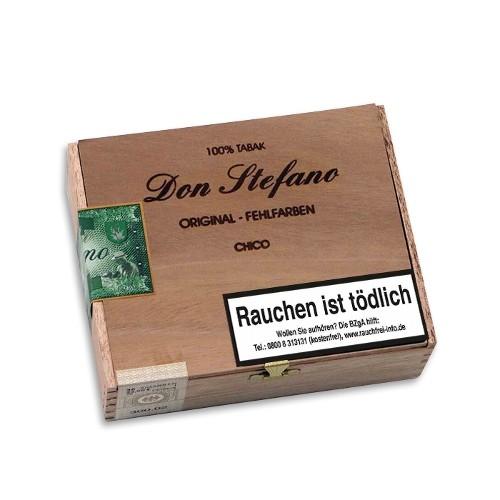 Don Stefano Original Fehlfarben Chico Sumatra 30 Zigarren