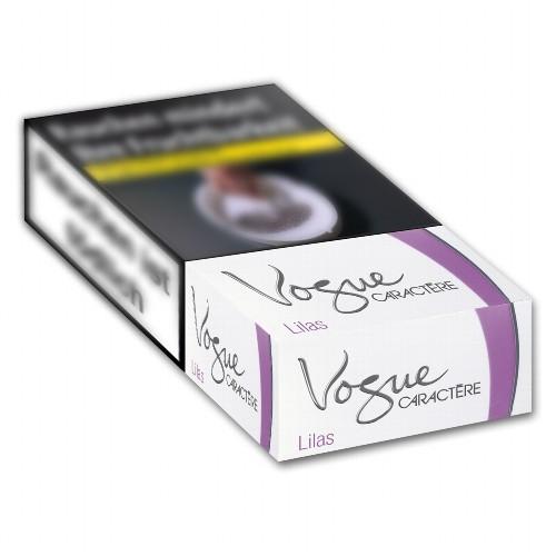 Vogue Zigaretten Caractère Lilas 100 (10x20)