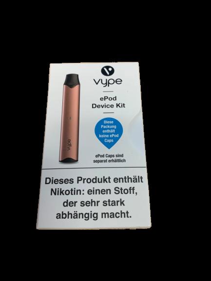 E-Zigarette VYPE ePod Device Kit Farbe Roségold