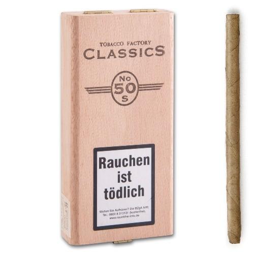 TABACCO FACTORY Class No 50 Sumatra 20 Zigarren