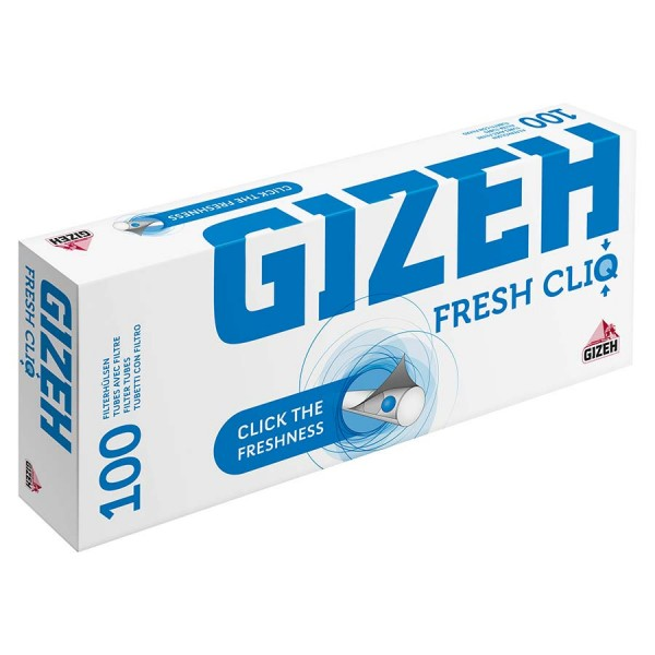 GIZEH Fresh Cliq Hülsen 100 Stück Packung