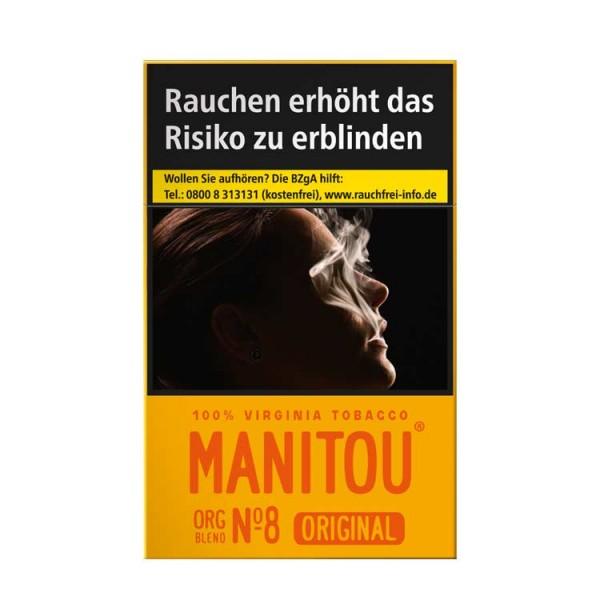 Manitou Zigaretten Org Blend No.8 ohne Zusätze (10x20)
